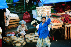 Shots from a return visit to Denpasar market in Bali, Indonesia.