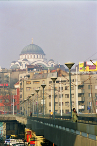 The massive yet airy bulk of Sveti Sava church dominates the Belgrade skyline. It balances the bulk of the great mosques of its time with lighter italianate influences reminiscent of the Duomo in Florence. I was quite taken by the contrast between the mundane and transcendent elements that make Belgrade such an interesting city.