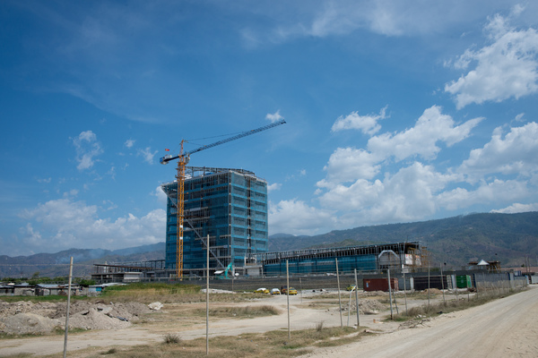 Timor;'s new ministry of finance building