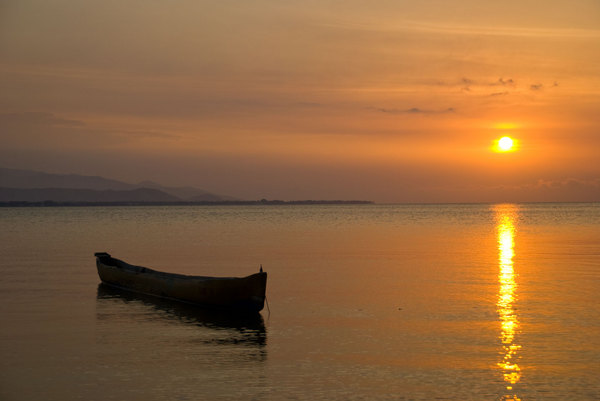 Sunsets in Dili during the dry season are routinely spectacular.