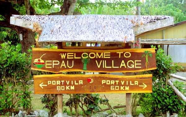 One of the joys of the Efate ring road is that all roads really <strong>do</strong> lead to Port Vila.
