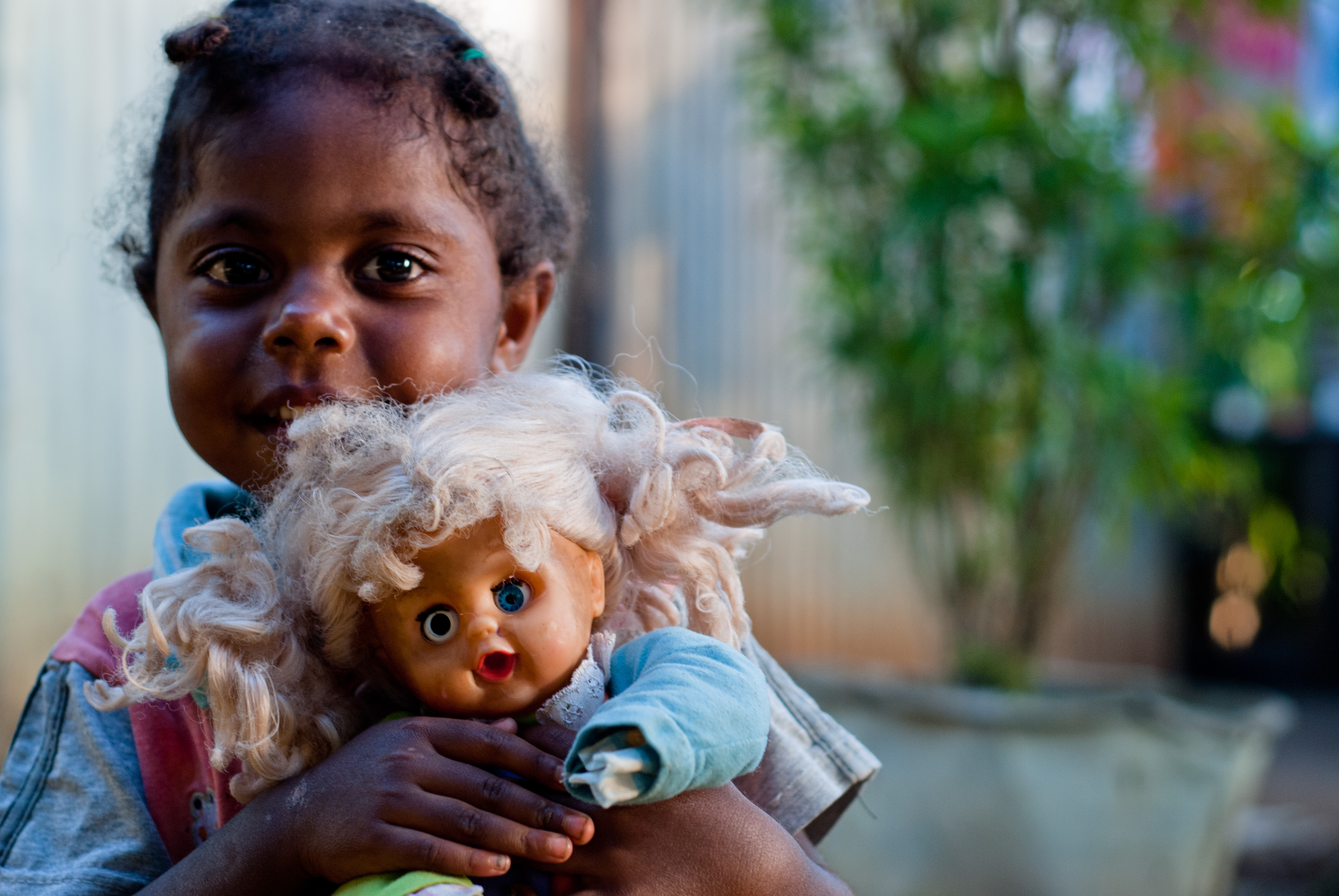 Girl With Doll Imagicity