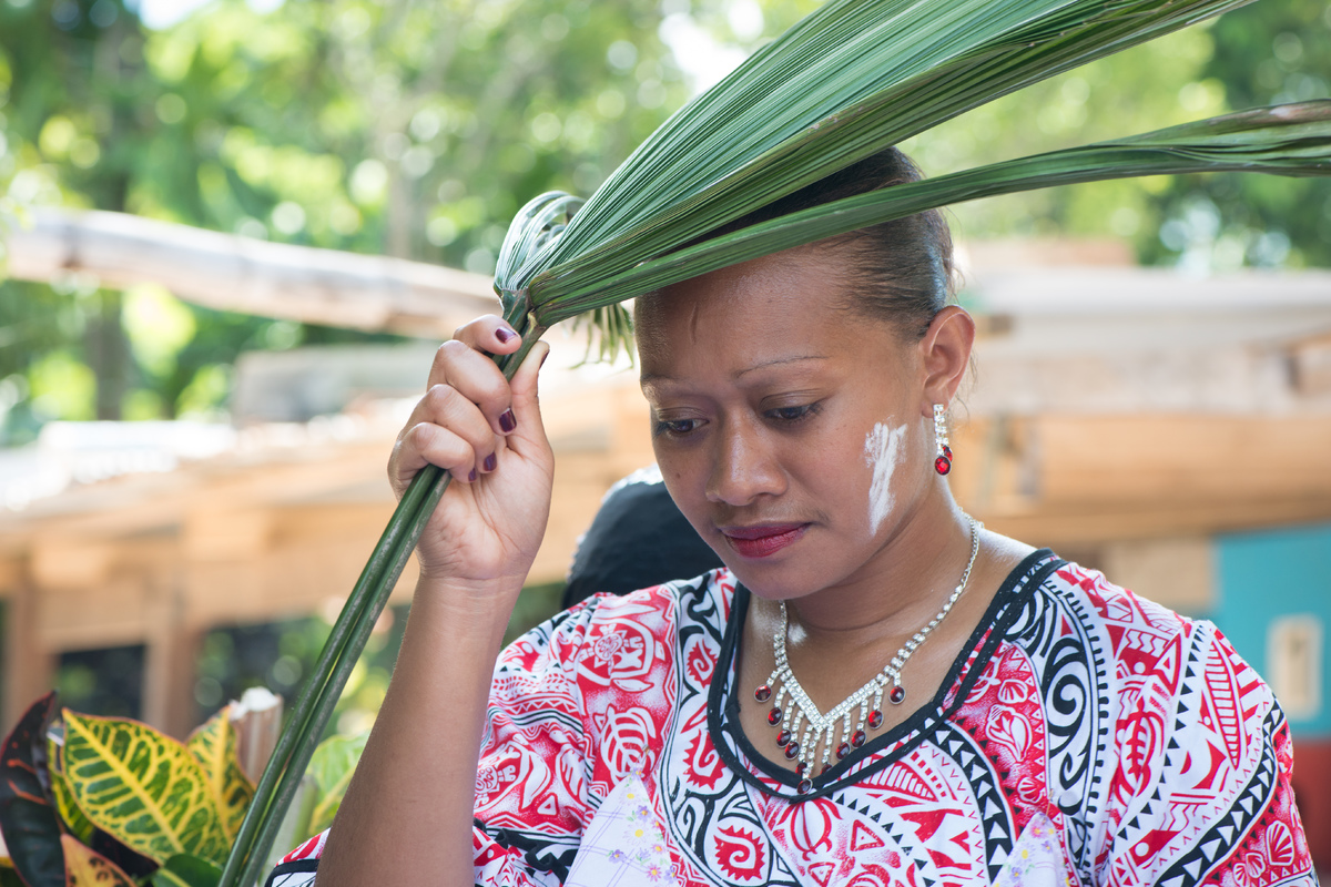 Shots from the kastom marriage of Chief John Tarilama's daughter.
