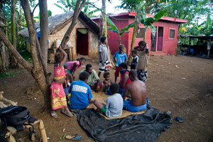 Small-stakes card games are a prime way of earning a little extra cash in Vanuatu.