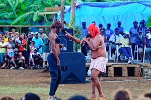 A few scenes from the TAFEA day celebrations at Freswota Field.