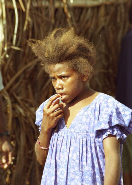 The expat population of Port Vila uses the occasion