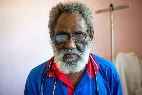 When the people of Ifira island experienced difficulty retaining government-employed medical staff at their clinic, a local community trust hired this retired doctor to stand in. The clinic now operates six days a week.