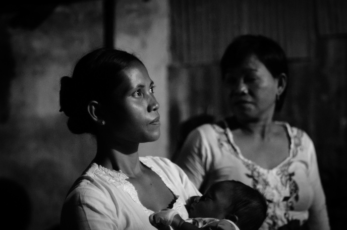 Mother and Child, Lombok, Indonesia