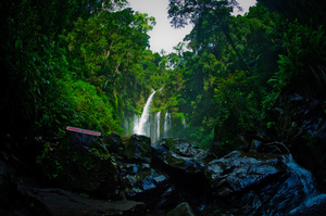 Tiu Kelep waterfall is one of the most beautiful places I've ever been.