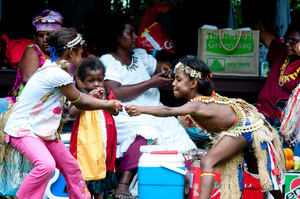 People from Manus Province celebrate their roots with a cultural festival.