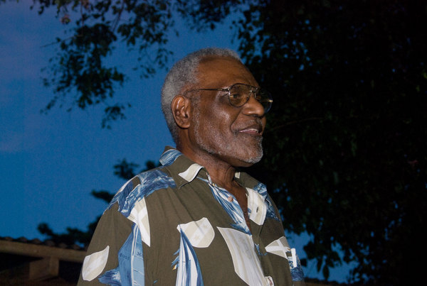 Chief Vincent Boulekone, one of the founding fathers of Vanuatu and one of its more prominent elder statesmen, was one  of the dignitaries present at a function I photographed for the Pacific Institute of Public Policy.