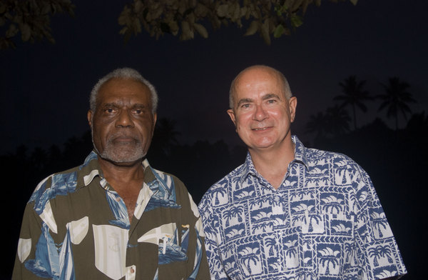 Chief Vincent Boulekone and Duncan Kerr, Parliamentary Secretary for Pacific Affairs, were two of the dignitaries present at a function I photographed for the Pacific Institute of Public Policy.