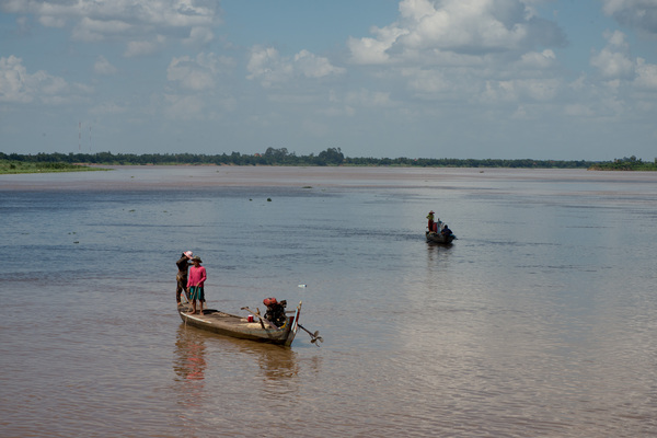 A day on the other side of the Mekong river.
