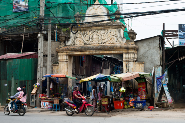 Shots from Phnom Penh.
