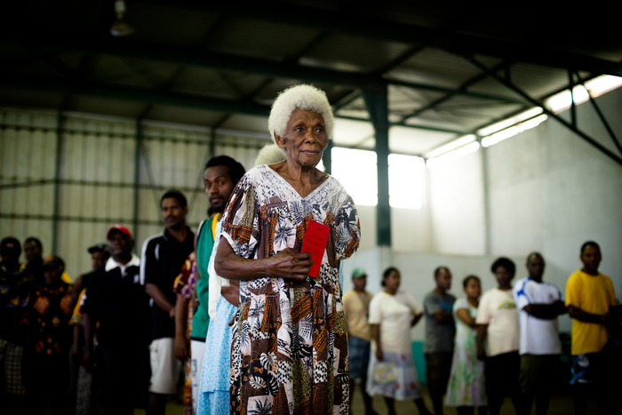 Vanuatu Election 2012