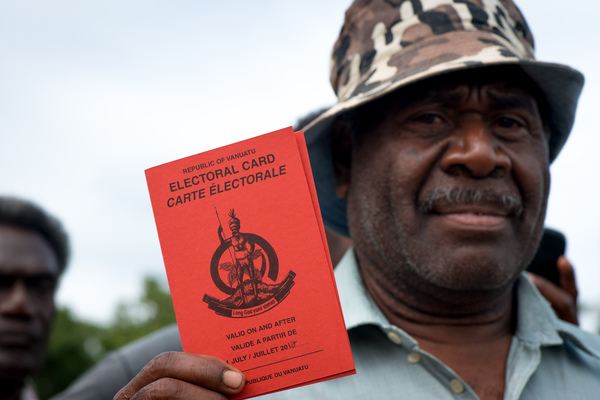 Some shots taken on polling day in Vanuatu's 2012 general election.