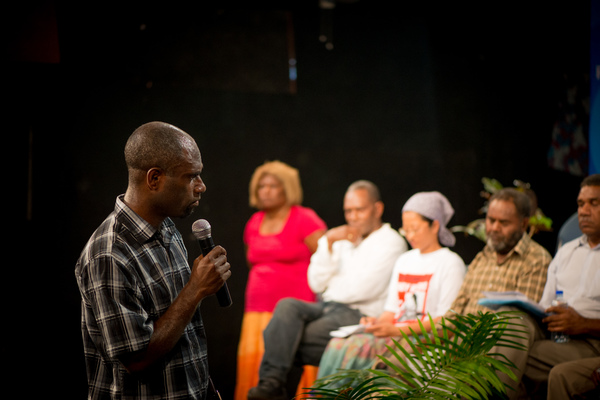 Some shots from PiPP's Vanuatu leaders' debate, part of its 2012 elections activities.