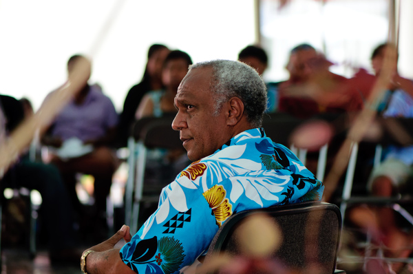 Shots from PiPP's Face to Face events featuring the Prime Minister of Vanuatu and the Leader of the Opposition.