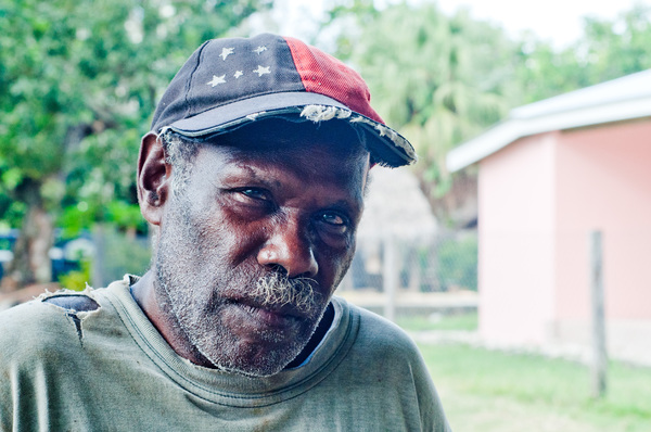 One of the chiefs of Hog Harbour, a prsperous village on Santo's east coast.
