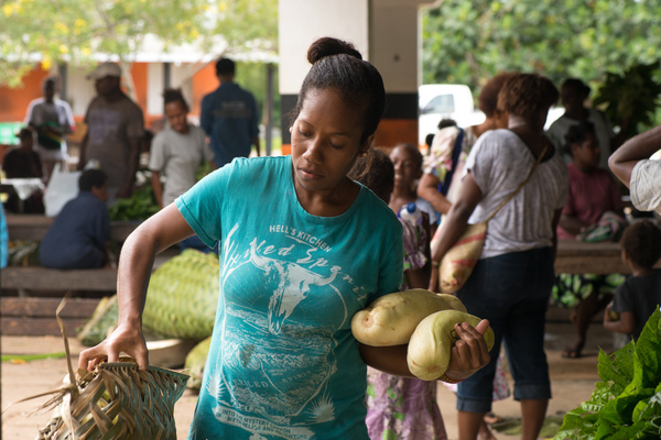 More food than you can carry. Nice problem to have, here in Vanuatu.