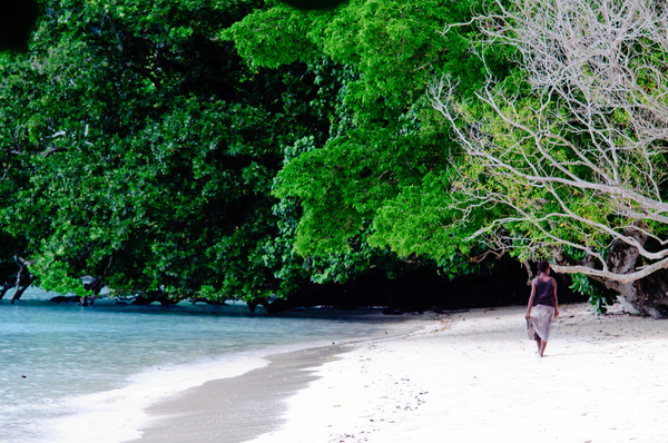 I took the children to beautiful Lonoc beach on Santo's east coast for a sunny day of swimming and revelry.