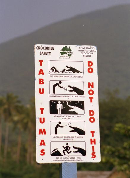 Vanua Lava is the only island in Vanuatu with crocodiles in its rivers. There are only five of them (crocodiles, not rivers), and the locals  take particular pride in them. if you try to pass them in the pool. </li> time of death simply by <i>looking</i> at fish remains. </li> dance for them. </li><br />
