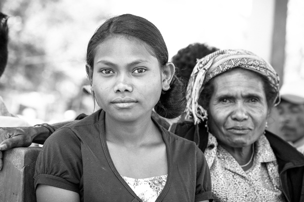 The power of generations - I met this girl and her mother in the marketplace in Ainaro on the first day of a road trip through some of the more remote parts of the country.