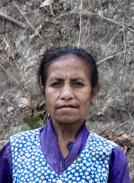I met this woman on the road between Dili and Baucau.