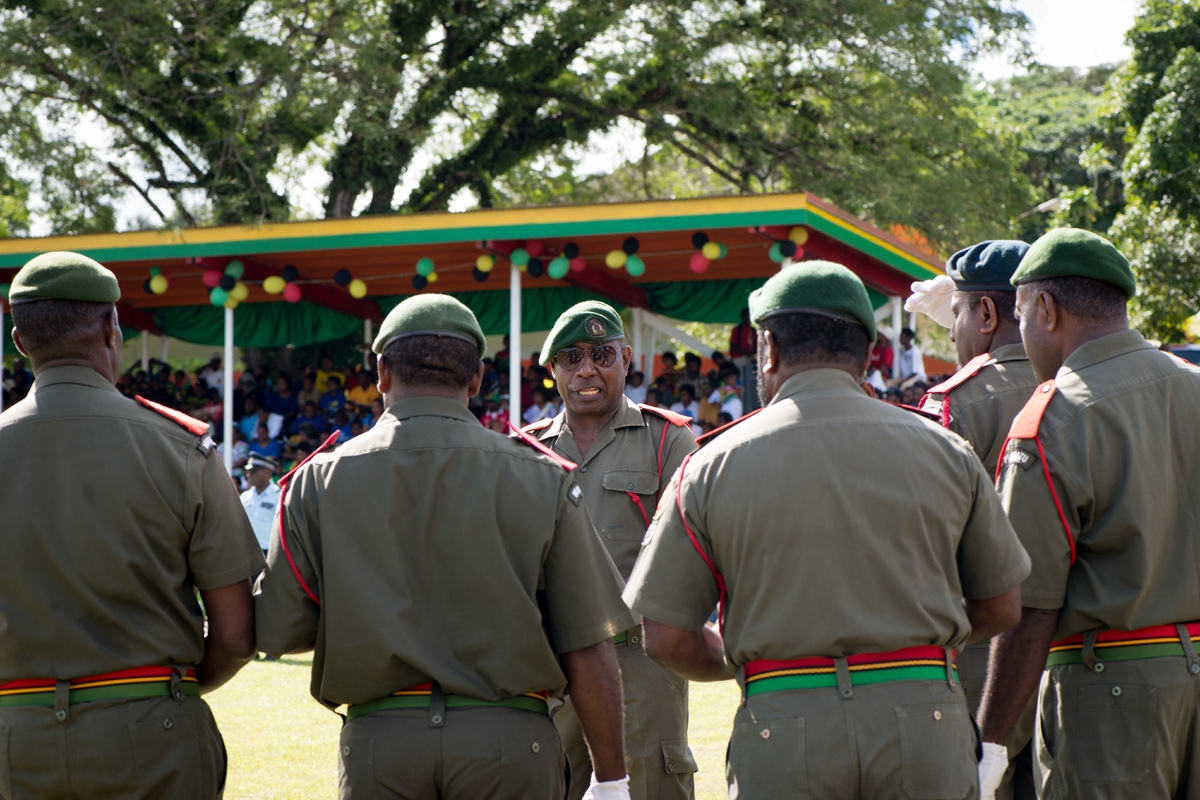 Shots from celebrations of Vanuatu's 33rd independence celebrations.