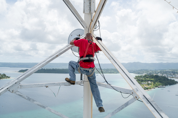 Digicel's Andrew Kay shows us the ropes in a day in the life of a telco field technician.