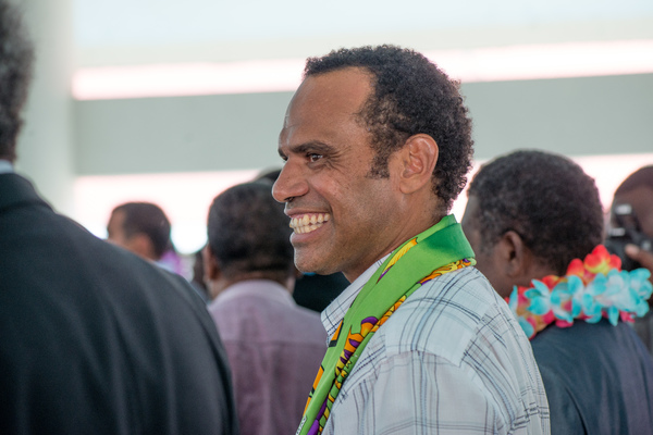 Shots from the opening session of the 11th Parliament of Vanuatu, in which Charlot Salwai was elected Prime Minister