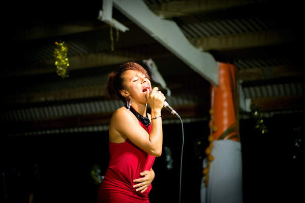 Shots from Christmas in the Park down at the Port Vila Seafront.