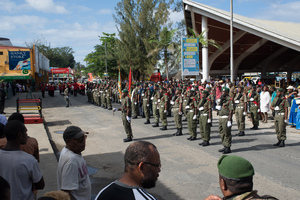 Shots taken during the Constitution Day ceremonies marking 36 years since the founding document of Vanuatu first came into effect.
