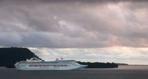 This one passed through Lightroom and Photoshop before it left Port Vila.