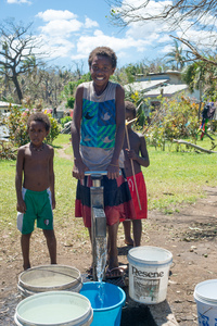 Cyclone Pam shots from Tanna