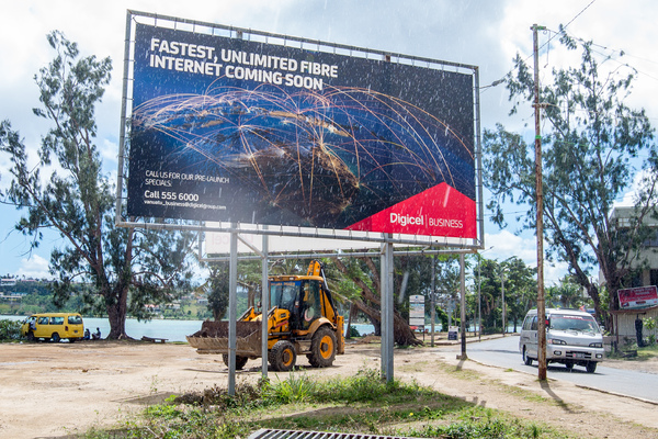 Cable-laying operations for Digicel's Unlimited Fibre project may be causing headaches today, but the results will make it all worthwhile, say company reps.