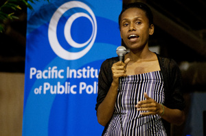 Shots from the Pacific Institute of Public Policy's latest MP Face to Face meeting. This one was for MPs from Vanuatu's single-seat constituencies.