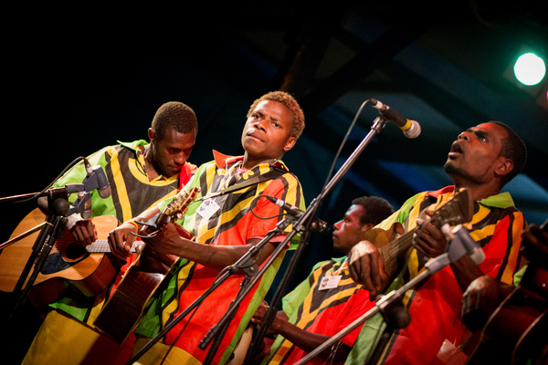 Shots from String Band Night at Vanuatu's premier music festival.