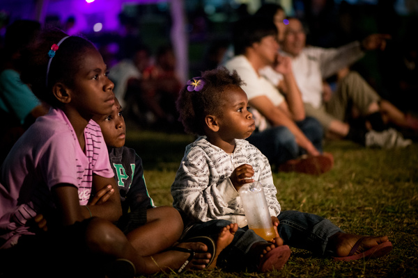 Day one of Vanuatu's premier music festival.