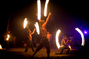 More shots from Wan Smolbag's Fire Dance troupe.