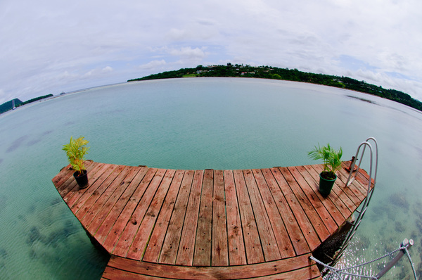 Playing around with a fish-eye lens lent to me by a friend.