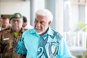The announcement of a $30m flash appeal for cyclone relief in Vanuatu.
