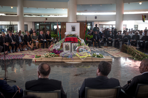heads of state from across the region attened the state funeral of Vanuatu President Baldwin Lonsdale.
