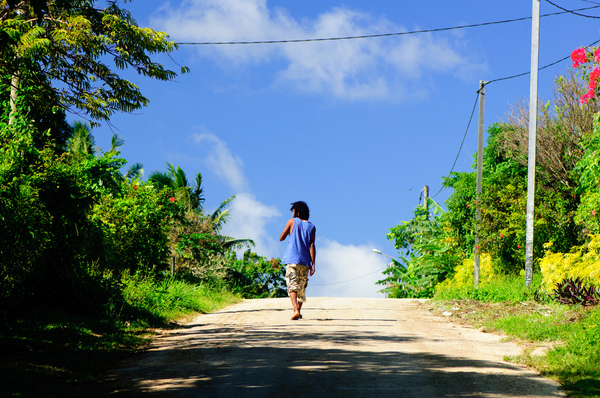 Shots from a walk through Port Vila's Simbolo and Anamburu neighbourhoods.