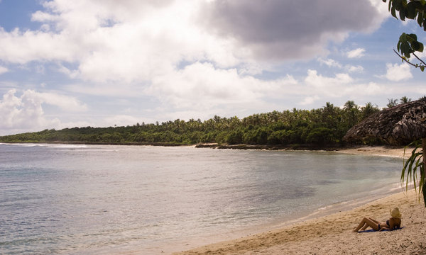 Christmas time at Port Vila's Honeymoon Beach. Truly, this is one of the hardest times of the year to endure.