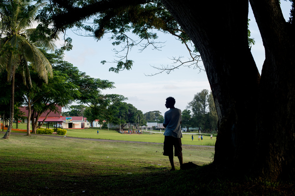 Taken in Port Vila's Independence park.