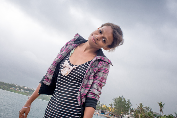 Some shots of a rising young Ni Vanuatu singer.