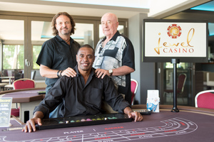 Daniel Sope is the first Ni Vanuatu casino manager in the country.