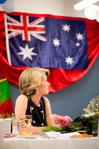 Shots from the first day of Australian Foreign Minister Julie Bishop's 2013 visit to Vanuatu.