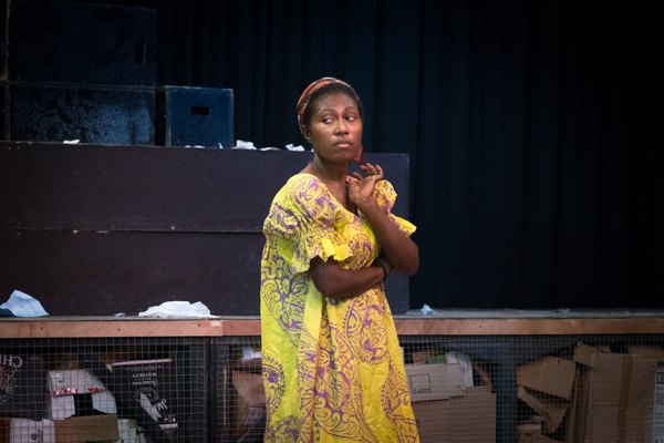 More shots from a run-through of Wan Smolbag's latest play, Kaekae Rat.